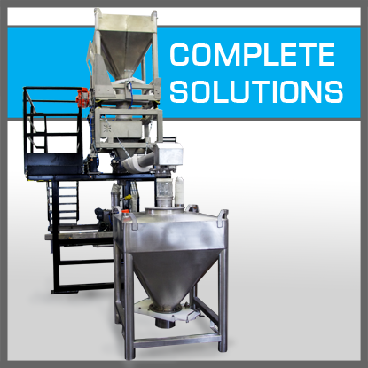 Complete solutions for powder - IBC Containers
