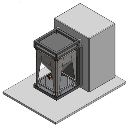 Mélangeur conteneur - phase 2 - IBC Powder Container